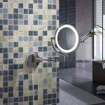 Aquamarin - Miroir Cosmétique Double Face Mural Grossissant x7 Lumineux LED Orientable (Modèle au Choix) de la marque Aqua Marin® image 4 produit