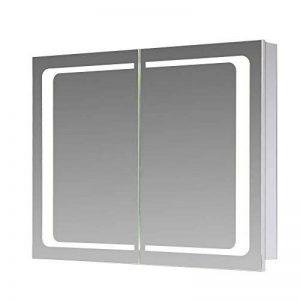 armoire de toilette 2 portes miroir TOP 3 image 0 produit