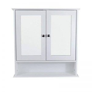 armoire de toilette 2 portes miroir TOP 6 image 0 produit