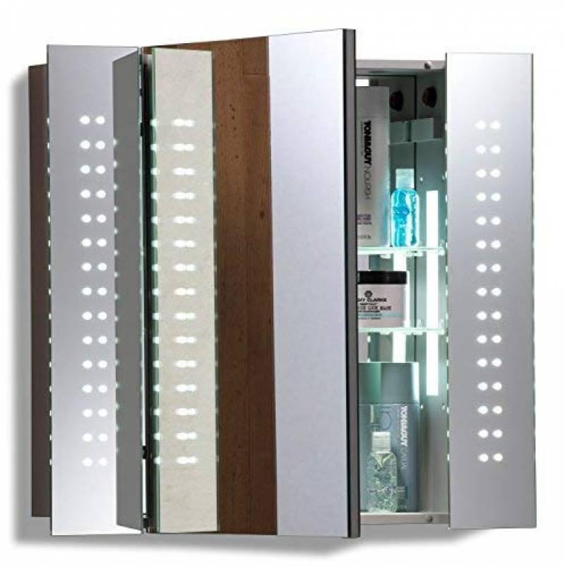 Armoire De Toilette Avec Miroir Et Eclairage Faites Une Affaire Pour