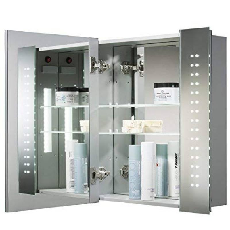 armoire de toilette avec miroir et eclairage faites une. Black Bedroom Furniture Sets. Home Design Ideas