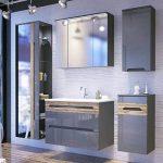 Armoire haute 'Jay' Meuble Salle de Bain Armoire suspendue Meubles Armoire à miroir de la marque Jadella image 1 produit