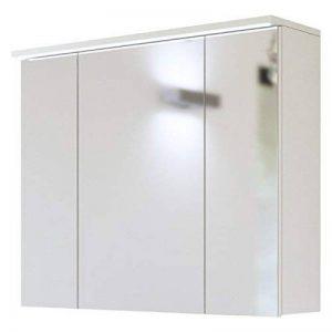 Armoire miroir 'Jay SP80' Miroir de salle de bain 80cm Meubles de salle Armoire miroir alibertschrank de la marque Jadella image 0 produit