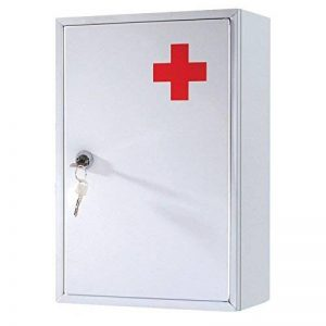 Armoire À Pharmacie Premiers Soins Urgence Blanc de la marque Marksman image 0 produit