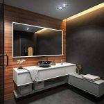 Beau Miroir Salle De Bain Lumineux LED 100x80cm de la marque FORAM image 2 produit