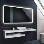 Blanc Chaud 100 x 60 cm | Horizontale Illumination LED miroir sur mesure eclairage salle de bain | Mural Lumineux Miroir de la marque FORAM image 2 produit