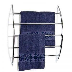 bremermann® Porte-serviette chromé pour fixation murale assorti de 5 barres en métal de la marque bremermann® image 0 produit