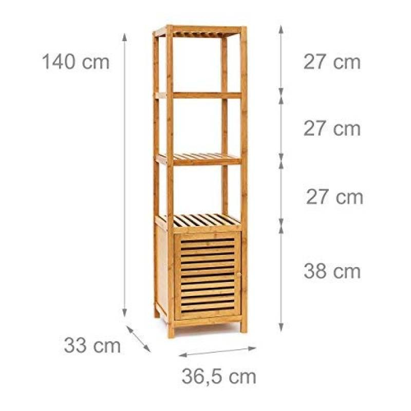 Colonne Salle De Bain Bambou Acheter Les Meilleurs