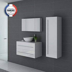 colonne salle de bain gris laque TOP 14 image 0 produit