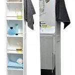 colonne salle de bain gris laque TOP 6 image 1 produit