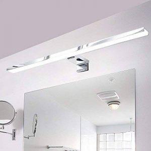 CroLED Lampe Salle de Bain LED 8W Blanc Chaud IP44 Aluminium Eclairage Pour Miroir Maquillage Ameublement Meuble Applique Mural de la marque CroLED image 0 produit