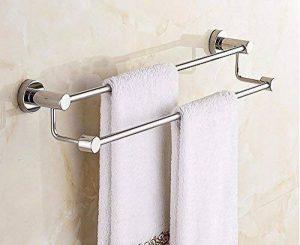 DACHUI Salle de bains porte-serviettes Mural double Tige 80cm moderne de la marque DACHUI image 0 produit