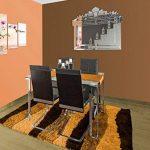 DekoArte VN004 - Miroir mural de style vénitien de placement horizontal 110x90cm de la marque DekoArte image 1 produit