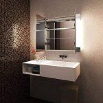 Diamond X Collection Armoire De Toilette Anti-Buée Capteur Prise Rasoir Interne k1506iW de la marque Diamond X Collection image 2 produit