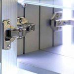 Diamond X Collection Armoire De Toilette Anti-Buée Capteur Prise Rasoir Interne k1506iW de la marque Diamond X Collection image 3 produit