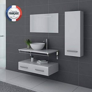 Distribain Meuble Simple Vasque Blanc VIRTUOSE de la marque Distribain image 0 produit