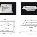 Emotion Meuble salle de bain double vasque Roma anthracite satiné de la marque Emotion image 4 produit