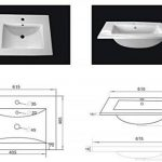 Emotion Meuble salle de bain double vasque Roma blanc brillant de la marque Emotion image 4 produit