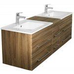 Emotion Meuble salle de bain double vasque Roma XL décor acacia de la marque Emotion image 2 produit