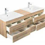 Emotion Meuble salle de bain double vasque Roma XL décor chêne de la marque Emotion image 4 produit