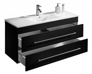 Emotion Meuble salle de bain Versus noir satiné de la marque Emotion image 0 produit