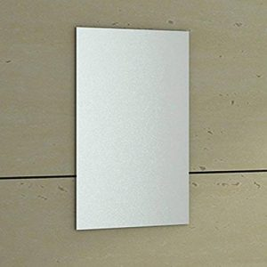 ENKI 400x 600mm Miroir biseauté Horizon rectangulaire de Salle de Bain à Fixation Murale en Verre sans Cadre de la marque ENKI image 0 produit