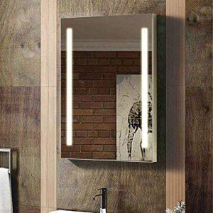 ENKI 500x 700mm Miroir Vertical Horizontal rétroéclairé Mural de Salle de Bain Del de la marque ENKI image 0 produit