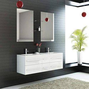 ensemble salle de bain 2 vasques TOP 10 image 0 produit