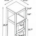 etagère salle de bain bois TOP 9 image 2 produit