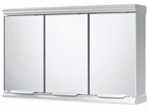 Gedy Placard à 3 portes avec miroir Idéal pour la salle de bain Blanc brillant de la marque Gedy image 0 produit