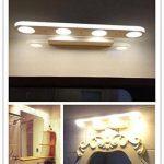 Glighone Lampe de Salle de Bain pour Miroir Mur Lumière 12W En Acier Inoxydable Moderne pour Salle de Bain Miroir Tableau - Blanc Froid de la marque Glighone image 1 produit