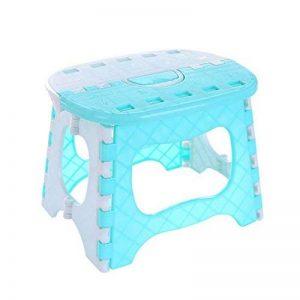 GUO - Tabouret pliant pour enfants Pony Petit tabouret Tabouret portable Tabouret de pêche pour adultes Tabouret de bain Chaise en plastique de la marque Tabouret de salle de bains image 0 produit
