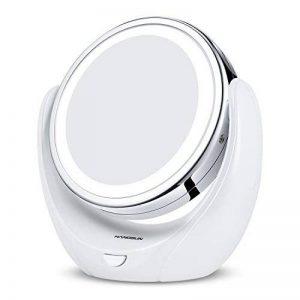 Hangsun Miroir Lumineux Maquillage B99 360º Miroir Grossissant x5 LED Miroir Salle De Bain/Rasage de la marque Hangsun image 0 produit