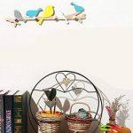 Healifty Patères Porte-Manteaux Murales de Forme Oiseau pour Porte-Manteau Serviettes Chapeau de la marque Healifty image 2 produit