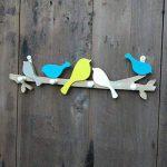 Healifty Patères Porte-Manteaux Murales de Forme Oiseau pour Porte-Manteau Serviettes Chapeau de la marque Healifty image 3 produit