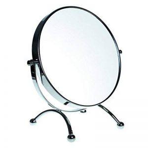 HIMRY Miroir cosmétique sur pied Assisi, 8 inch, orientable sur 360°, 100% et 1000%, chrome, KXD3118-10x de la marque HIMRY image 0 produit