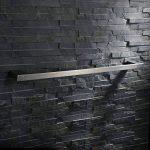 Homelody Porte Serviette Barre à Serviette Porte Serviettes Porte torchons En Acier SS304 Brossé Fixation Murale Invisible Longueur utile 600cm Accessoirs salle de bains Fixation solide de la marque DESFAU image 3 produit