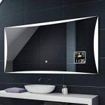 Illumination LED miroir muraux sur mesure eclairage salle de bain | INTERRUPTEUR TACTILE + STATION MÉTÉO S3 de la marque FORAM image 4 produit