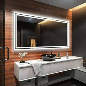 Illumination LED miroir sur mesure eclairage salle de bain de la marque FORAM image 0 produit