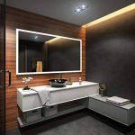 Illumination LED miroir sur mesure eclairage salle de bain de la marque FORAM image 3 produit