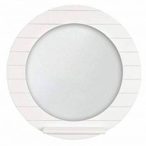Innova M06460 Beachcomber Miroir Rond avec Étagère Blanc 10 x 40 cm de la marque Innova image 0 produit