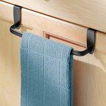 InterDesign Axis porte-serviette, petit sèche-serviette en métal, noir mat de la marque InterDesign image 1 produit
