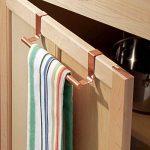 InterDesign Forma porte serviette salle de bain sans perçage, petit support serviette en métal, couleur cuivre de la marque InterDesign image 1 produit