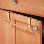 InterDesign Forma porte serviette salle de bain sans perçage, petit support serviette en métal, couleur cuivre de la marque InterDesign image 3 produit