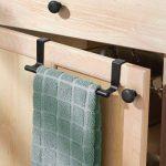 InterDesign Forma porte serviette salle de bain sans perçage, petit support serviette en métal, noir mat de la marque InterDesign image 1 produit