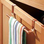 InterDesign Forma porte serviette salle de bain sans perçage, petit support serviette en métal, couleur cuivre de la marque InterDesign image 4 produit