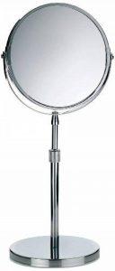 Kela 20846 Silvana Miroir Cosmétique sur Pied Grossissant 5x Métal Chromé 19 x 4,5 x 18 cm de la marque Kela image 0 produit
