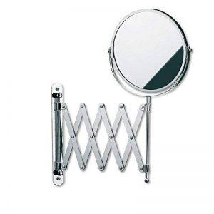 Kela 20847 miroir cosmétique mural, grossissant 5x, métal chromé, Avita' de la marque Kela image 0 produit
