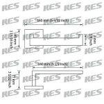 KES Porte-Papier Toilette Avec Support Mural, Inox Bross, A2570-2 de la marque Kes image 1 produit