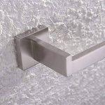 KES Porte-Papier Toilette Avec Support Mural, Inox Bross, A2570-2 de la marque Kes image 3 produit